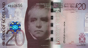 Scottish 20 Pound Note